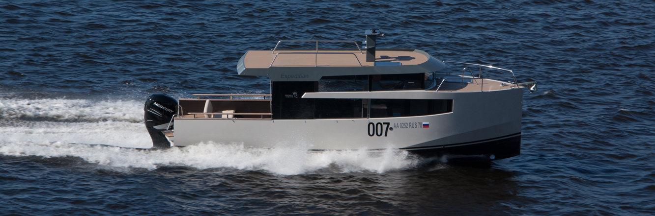 Expedition - моторная яхта до 10 метров