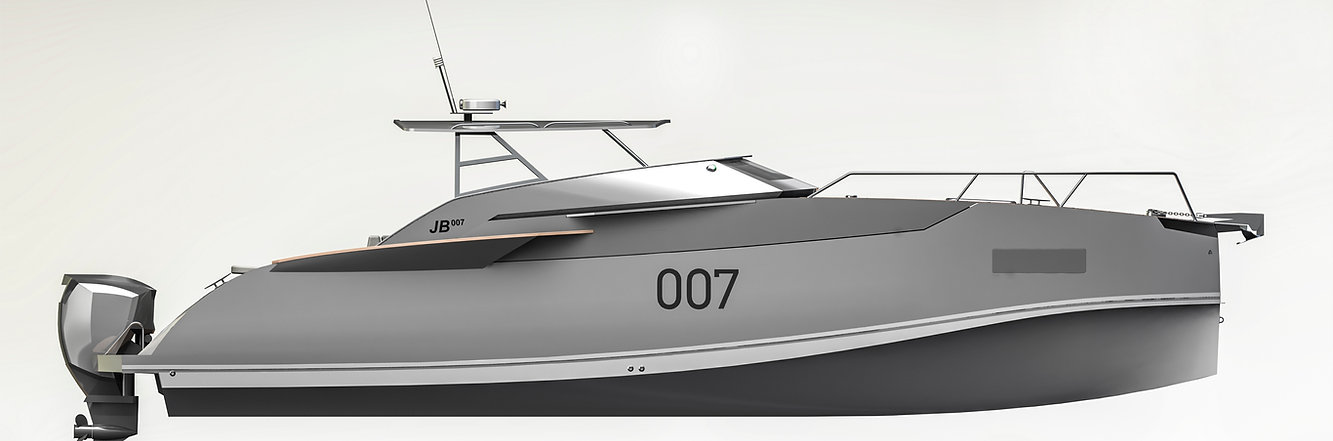 JB007- яхта Джеймса Бонда