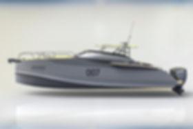 Sea Wolf 45 - aluminum motor yacht
