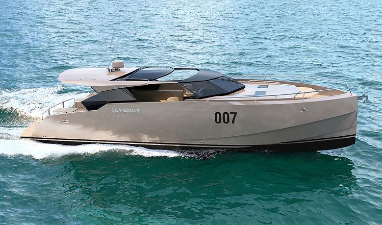 Sea Eagle - алюминиевая моторная яхта