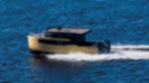 Expedition - каютный алюминиевый моторный катер