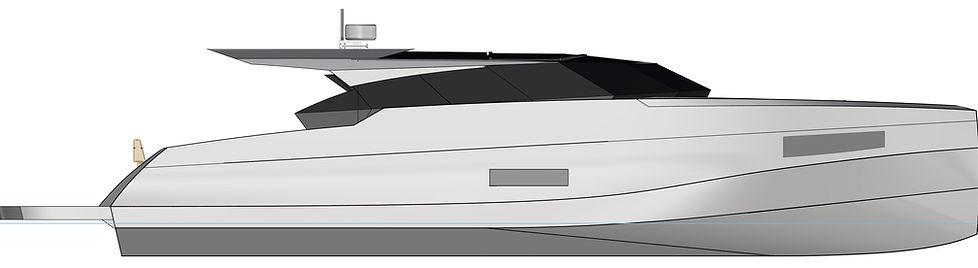 Алюминиевая моторня яхта Sea Eagle