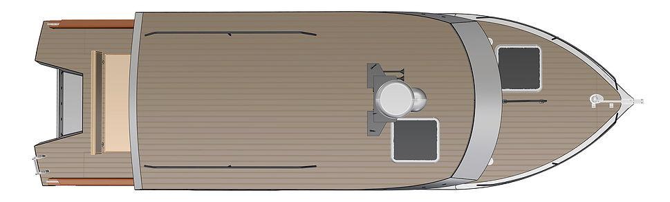 Expedition-31 - алюминиевый моторный катер