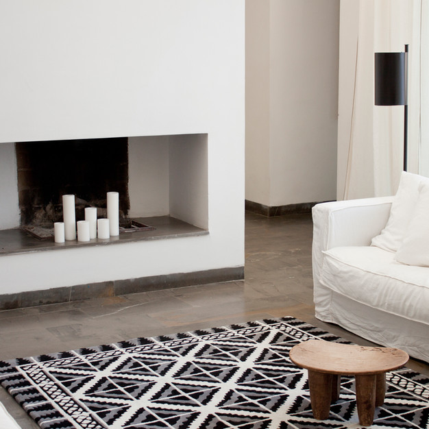 Marlo&isaure - cement tile - rug