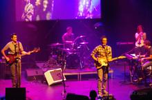Audionaute joue sa musique planante dans le mythique Club Soda