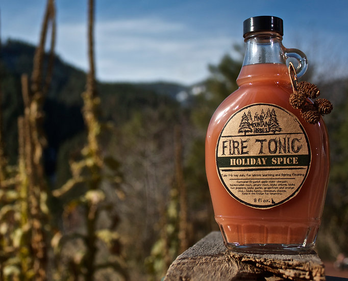 Holiday Fire Tonic 12 oz