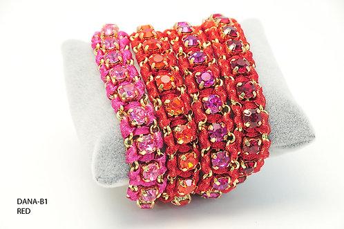 DANA-B1 Red Bracelets
