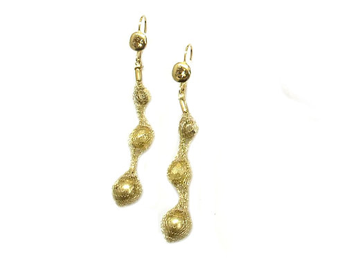 Glass pearls Earrings