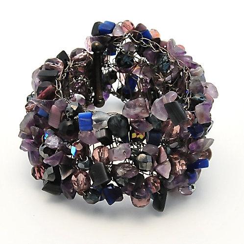 Blue Lagoon mineral bracelet.OP $149