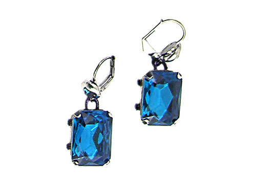deep Blue crystal Earrings