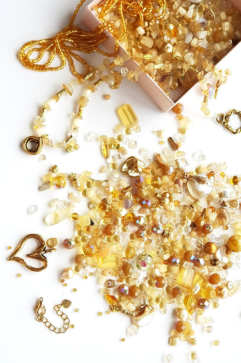 DIY Jewelry Kit - Golden Sun
