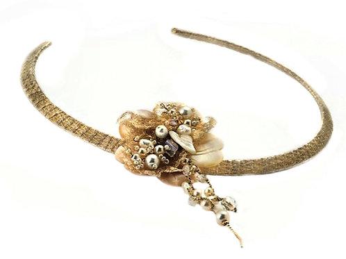 Sweet water pearls flower pendant