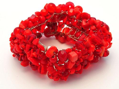 Vibrant Lava mineral bracelet. OP $149