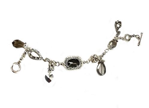 Charms & Swarovski Bracelet / RT01B1