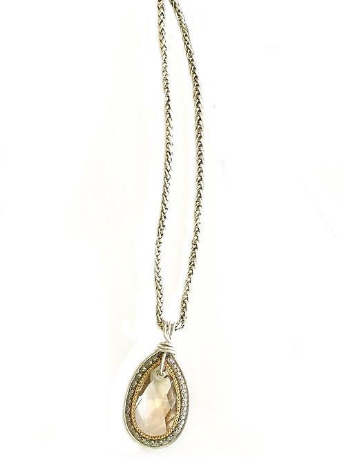 Teardrop Swarovski Crystal Pendant