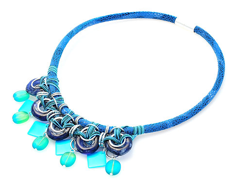 Candy Necklace in Blue