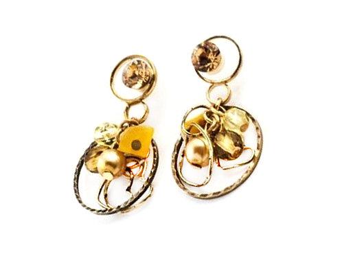 Pearls & Hearts Earrings