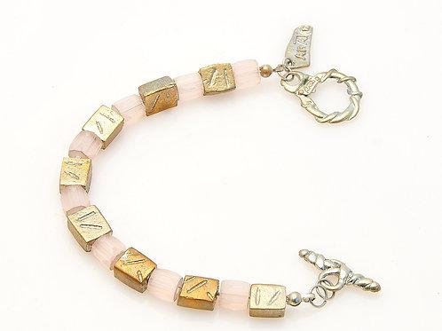 Rose crystals Bracelet