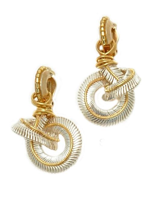 Knot & Snake Earrings