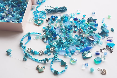 DIY Jewelry Kit -Blue sky