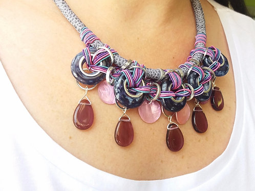 Candy Necklace Pink & Purple