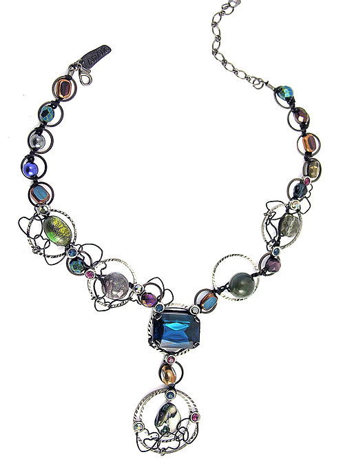 Blue Motion Necklace / RM08N1