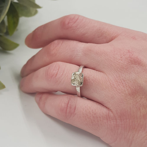 Swarovski Crystal Rock Ring