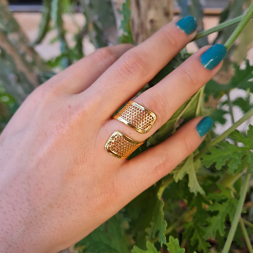 Abstract Ring with a Twist