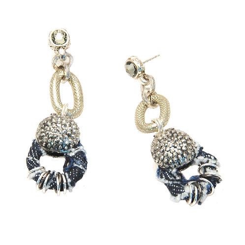 jeans Shackle Earrings