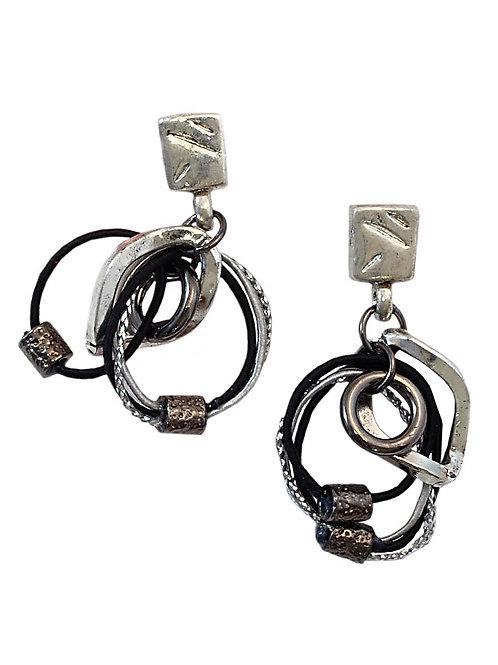 Silver & Metal Earrings