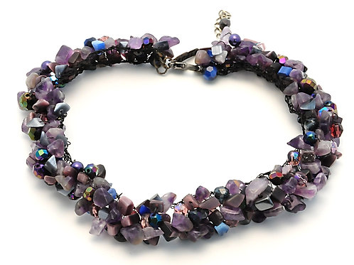 Blue Lagoon mineral necklace. OP $179