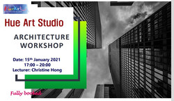 Hue art architecture workshop