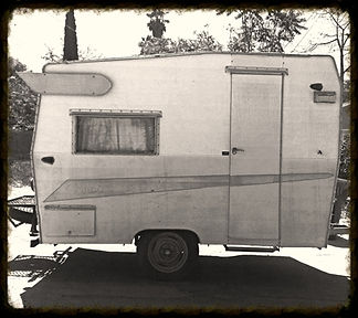 The original vintage trailer