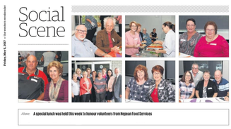NFS Volunteers recognised the Western Weekender