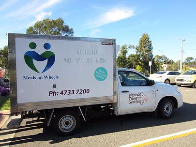 regional distribution freezer van meals on wheels