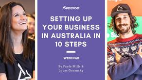 ¿Quieres empezar tu negocio en Australia y te perdiste nuestros webinars? ¡Atentos acá!