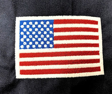 Key Embroidery American Flag