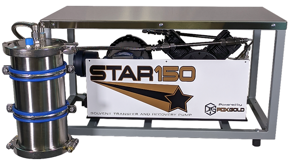 Solvent Transfer and Recovery pump new STAR
