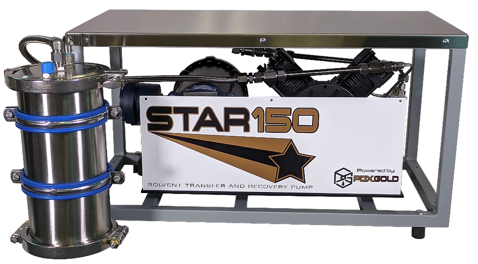 STAR 150 Solvent Transfer And Recovery pump