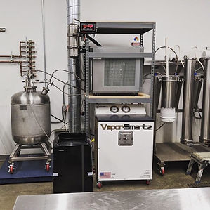 VaporSmartz iQ120 being tested at Pur Fo