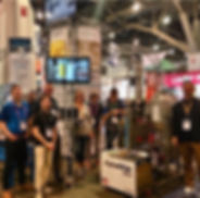 pdxgold team with LunaTechnologies at MJ Biz Con 2019