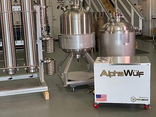 AlphaWulf 150G paird with Iron Fist Extractors' EX40