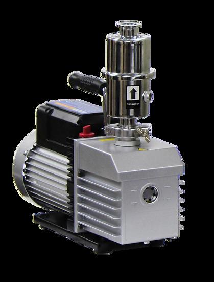 EasyVac 9 CFM Dual-Stage Vacuum Pump with Oil Mist Filter