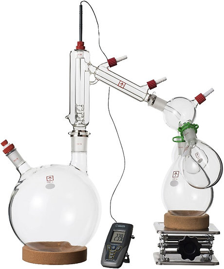 Ai 5L Short Path Distillation Kit with Multiple Receiving Flasks