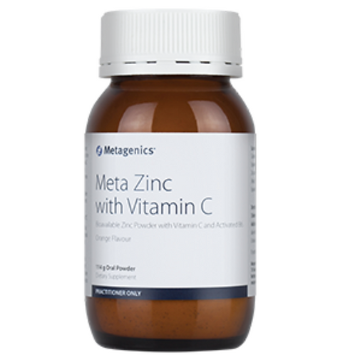 Metagenics Zinc with Vitamin C Orange flavour 114 g oral powder