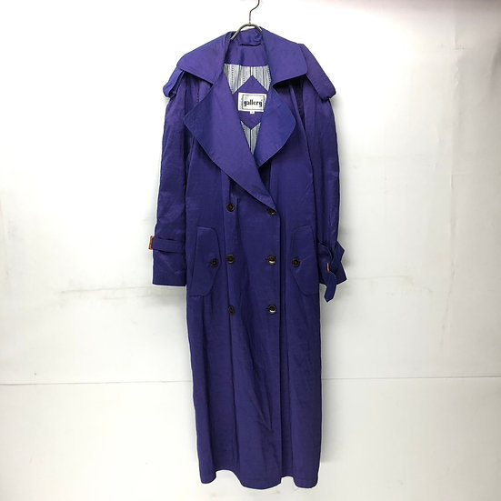 nylon trench coat / PPL