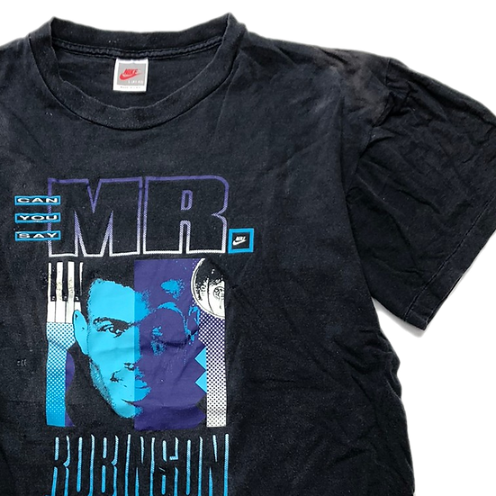 old nike T-shirt / BLK