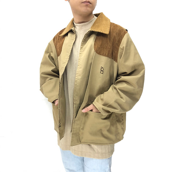 old ボブアレン hunting jacket / BEI