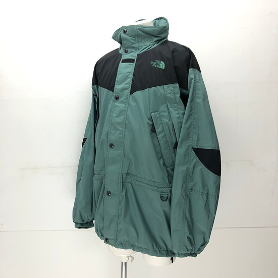 old The North Face mountain jacket / smoky green