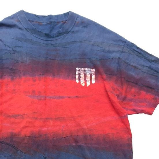 old design T-shirt  / tie dye